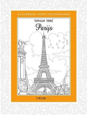 Kleurboek Parijs Moederdag