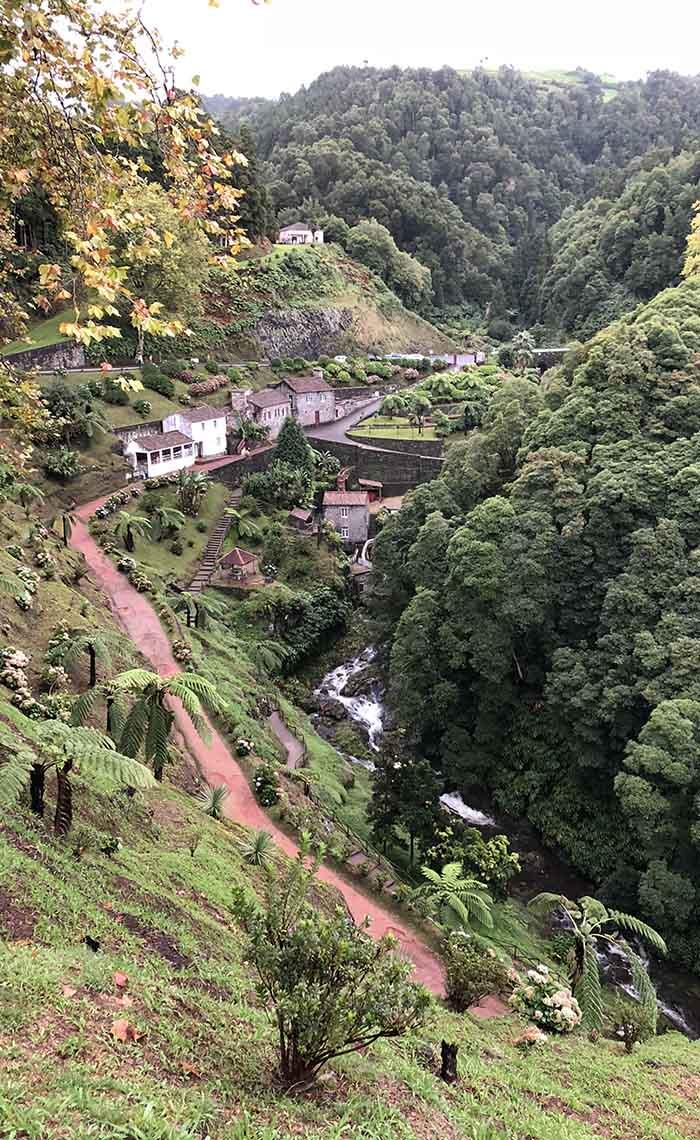 Landschap Sao Miguel Azoren - Travelvibe