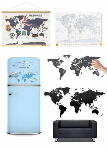 leukste wereldkaart kopen - Travelvibe