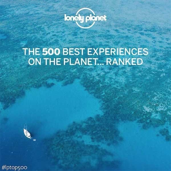 Lonely Planet top 500 - Travelvibe