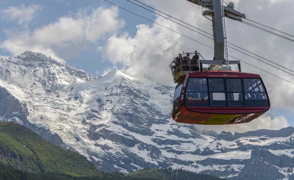 Maennlichen Zwitserland cabrio gondel - Travelvibe