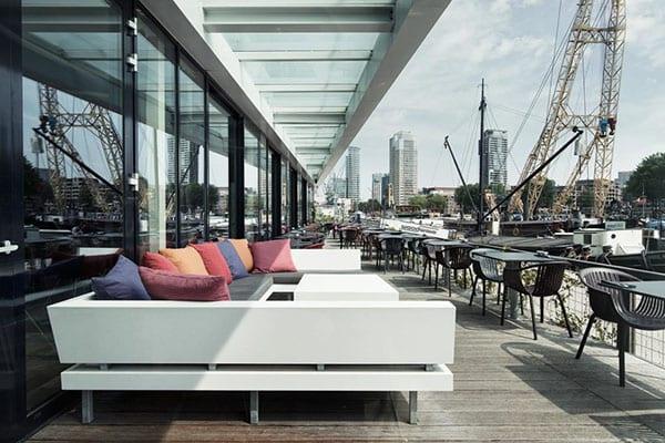 Mainport Hotel restaurant Rotterdam weekend