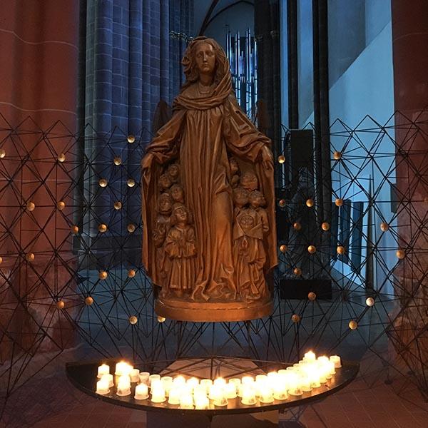 Maria blauwe kerk Mainz