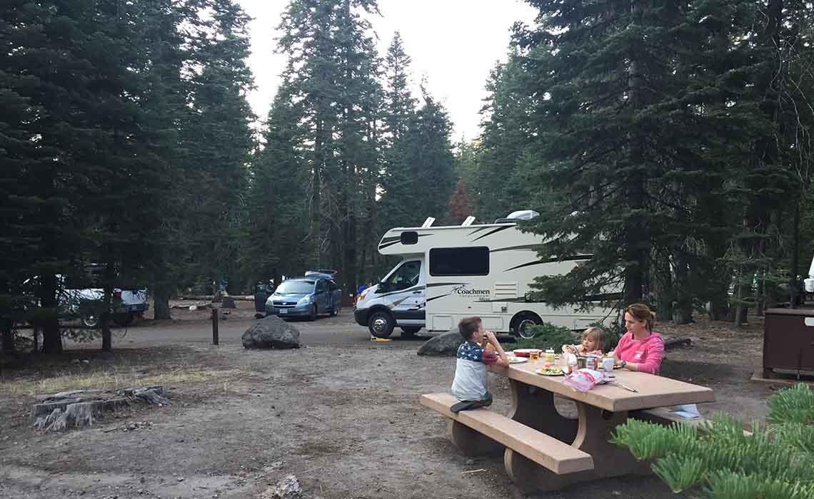 Waar kun je kamperen in Amerika - Travelvibe