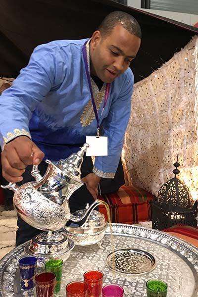 Marokkaanse sfeer - Vakantiebeurs 2017