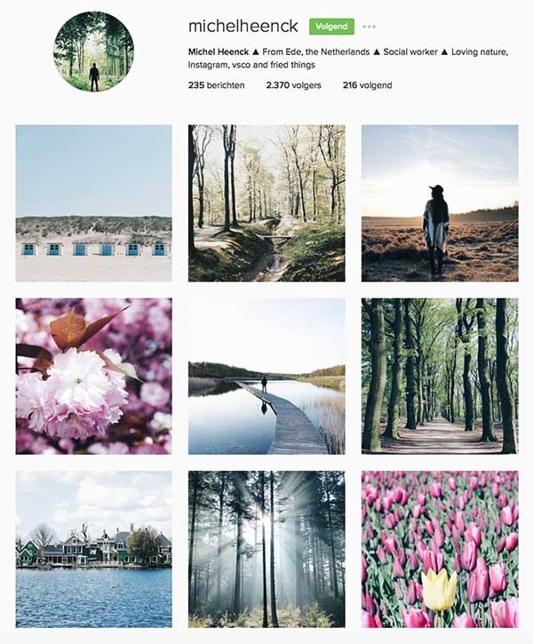 MichelHeenck op Instagram