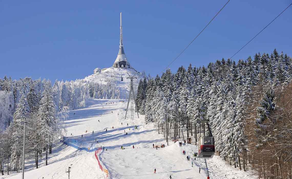 Wintersporten in Tsjechië - Travelvibe
