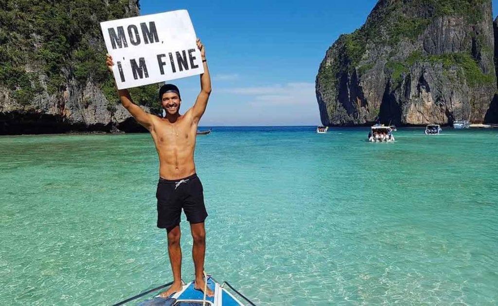Mom i'm fine instagram - Travelvibe
