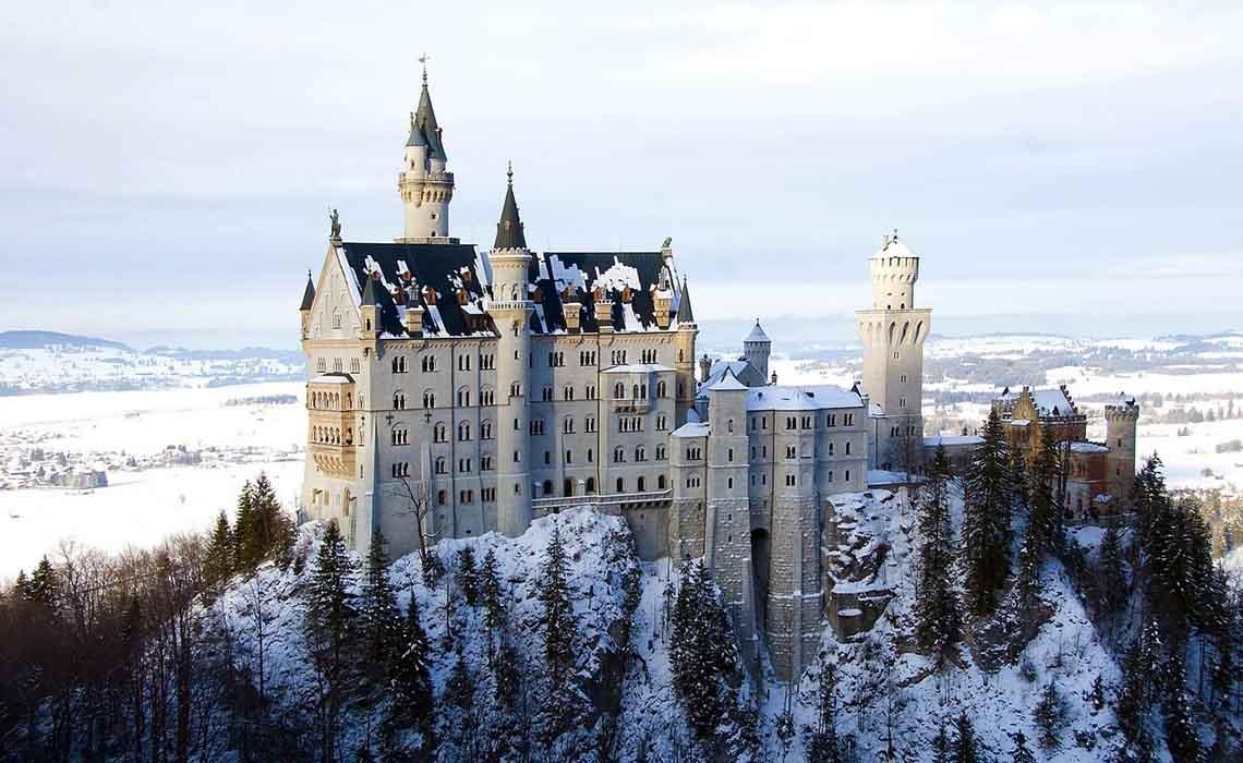 Mooiste Duitse kastelen en burchten - Neuschwanstein - Travelvibe