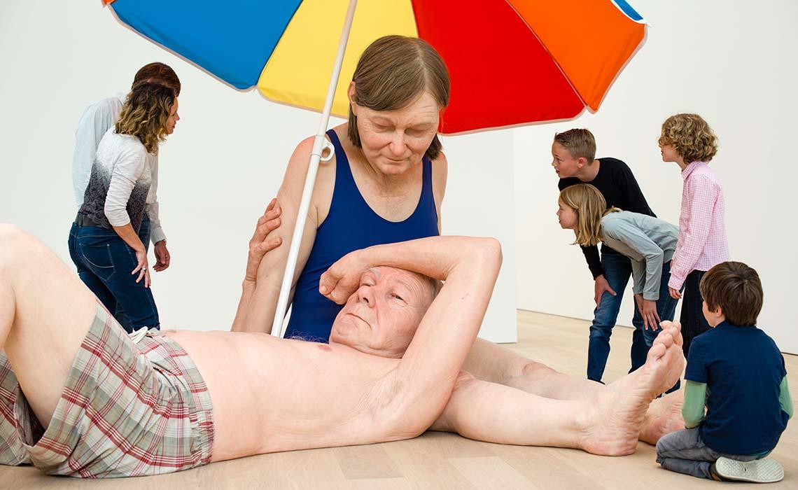 Minder bekende musea voor kinderen - Museum Voorlinden Mueck - Travelvibe