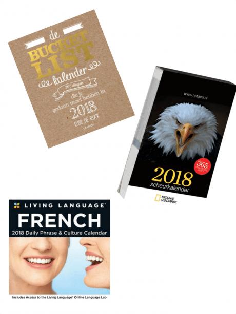 taal scheurkalender 2018