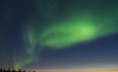 noorderlicht in de zomer | Fins Lapland