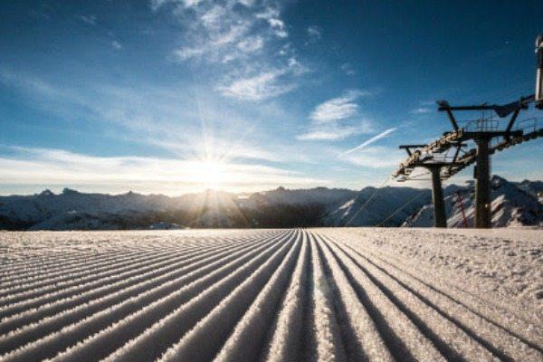 Ochtend skien Davos - Travelvibe