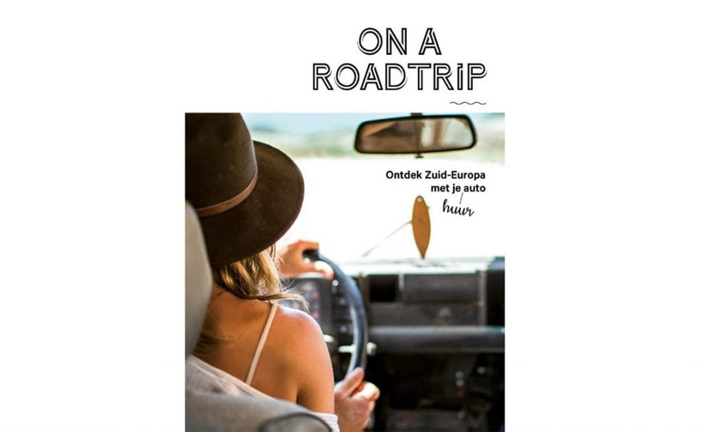 On a roadtrip winactie boek - Travelvibe
