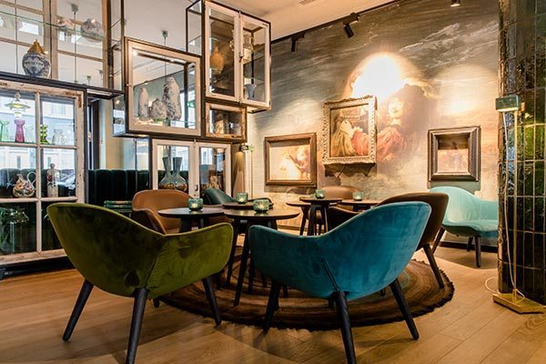One Lounge Motel One Amsterdam Waterlooplein - Travelvibe