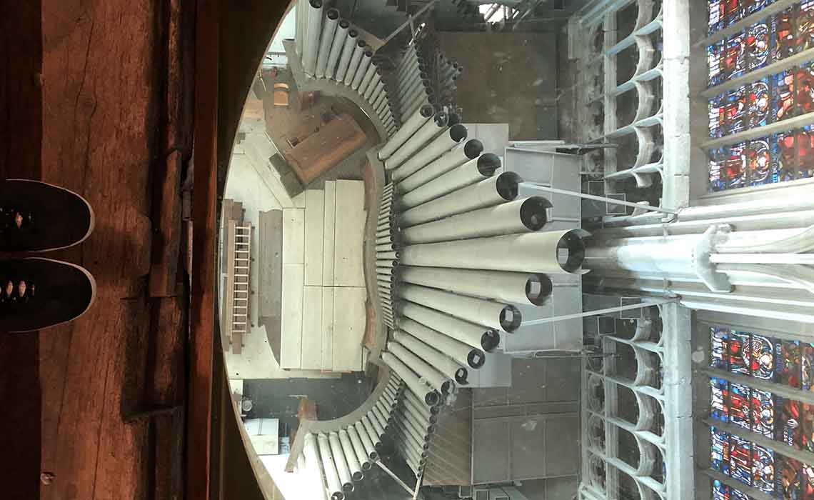 Orgel Sint Romboutstoren Mechelen - Travelvibe