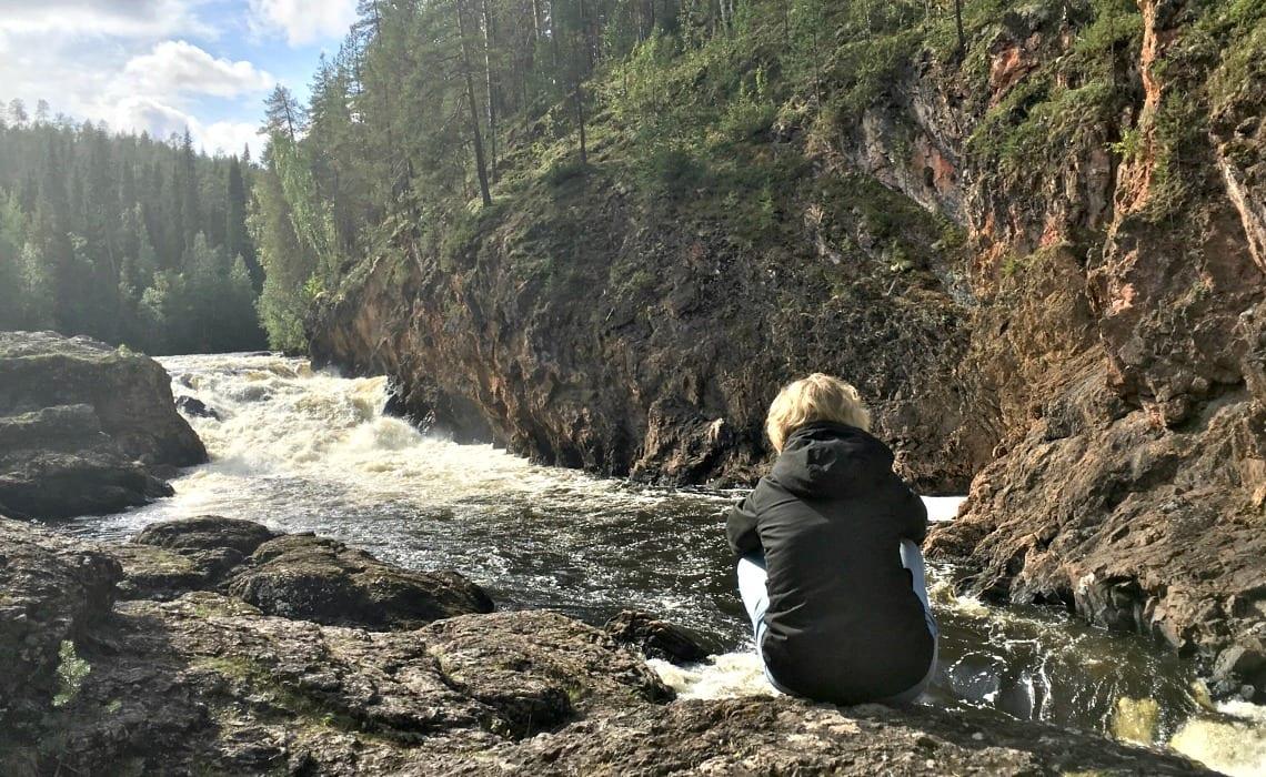 Oulanka rode rotsen |Travelvibe