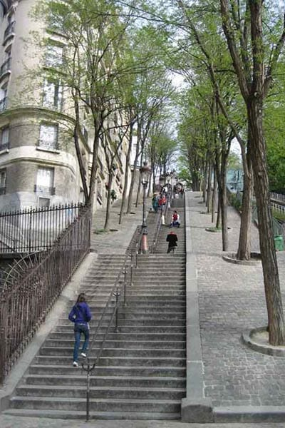 Parijs trappen - Travelvibe