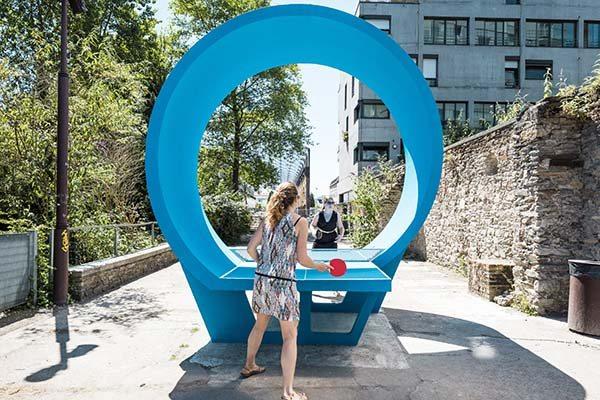 Ping Pong Park Le Voyage a Nantes