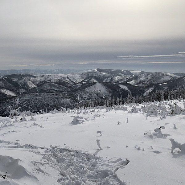 Gaaf uitzicht op Piste Skrzycne Poland - Travelvibe