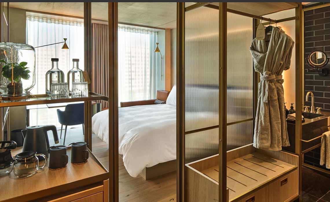 QO-Hotel Amsterdam - luxe duurzaam hotel - Travelvibe
