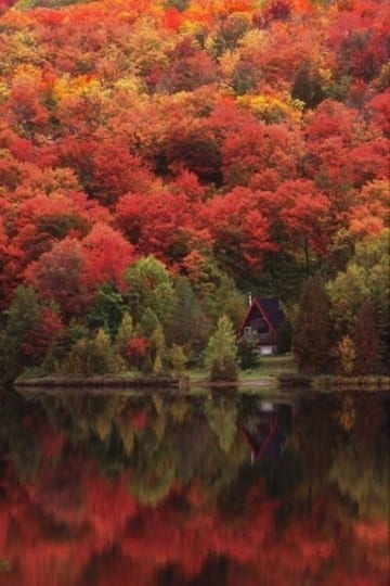 Quebec Canada, mooie herfstfoto's - Travelvibe