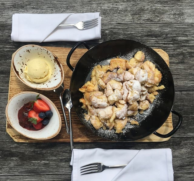 Recept kaiserschmarrn-Travelvibe