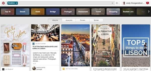 Reistips op Pinterest, Lissabon - Travelvibe