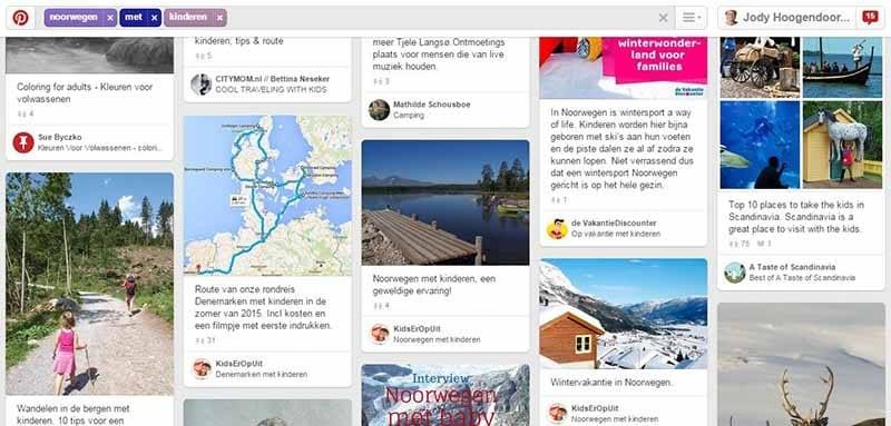 Reistips op Pinterest - noorwegen met kinderen - Travelvibe