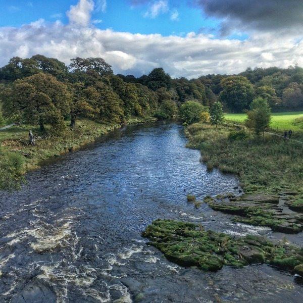 Rivier uitzicht Yorkshire Dales National Park