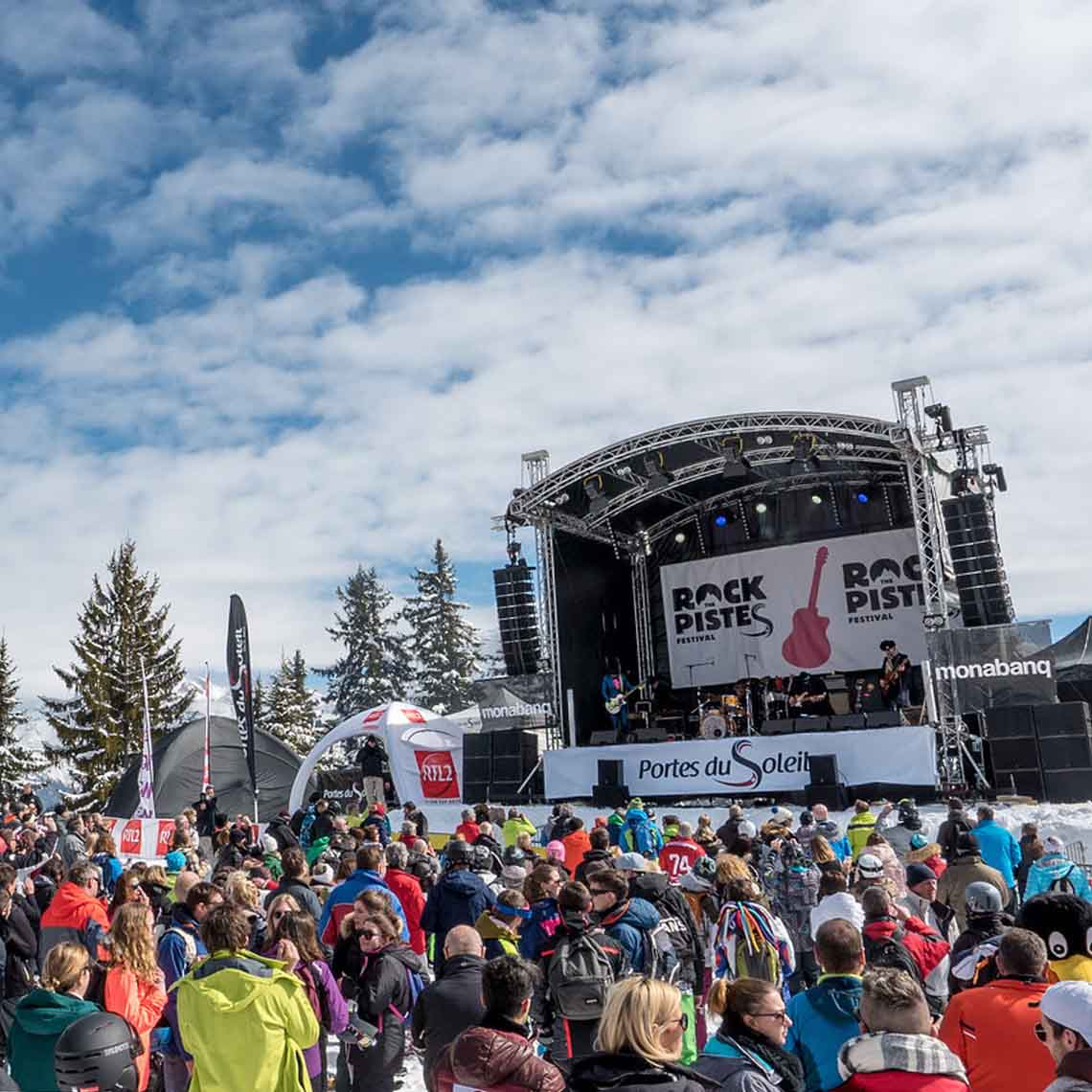 Rock the pistes festival - Travelvibe