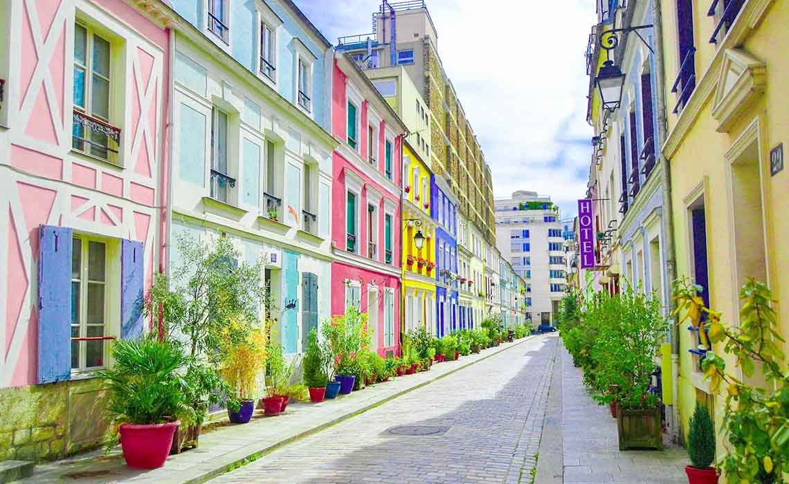 Rue Cremieux in Parijs - Travelvibe