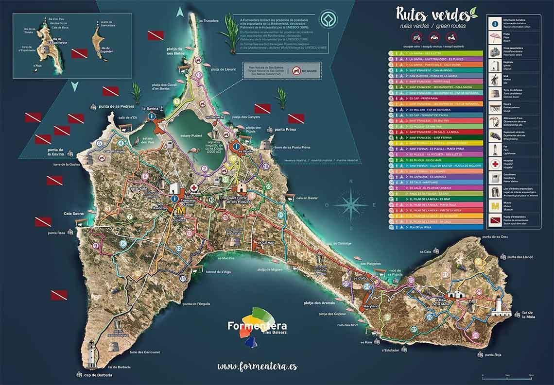 Rutas Verdes Formentera - Travelvibe