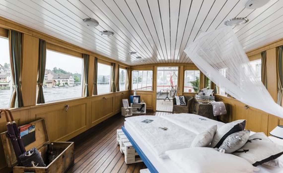 Schaffhausen pop up hotel in Zwitserland - Travelvibe