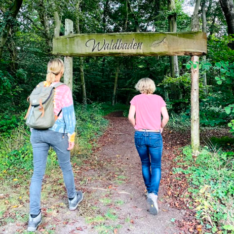 Speciaal gereserveerd voor het Waldbaden