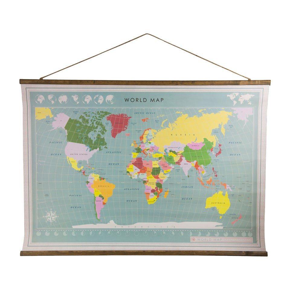 School wereldkaart Xenos - Travelvibe