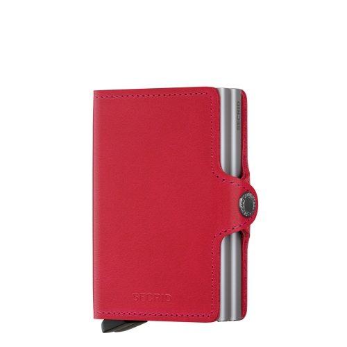 Handige secrid portemonnee in rood