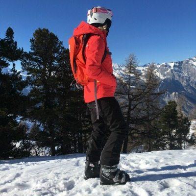 Skirugzak Thule Upslope | uitzicht bergtoppen | Travelvibe