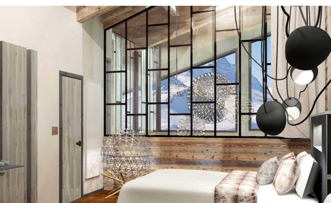 luxe designhotels in de Franse alpen