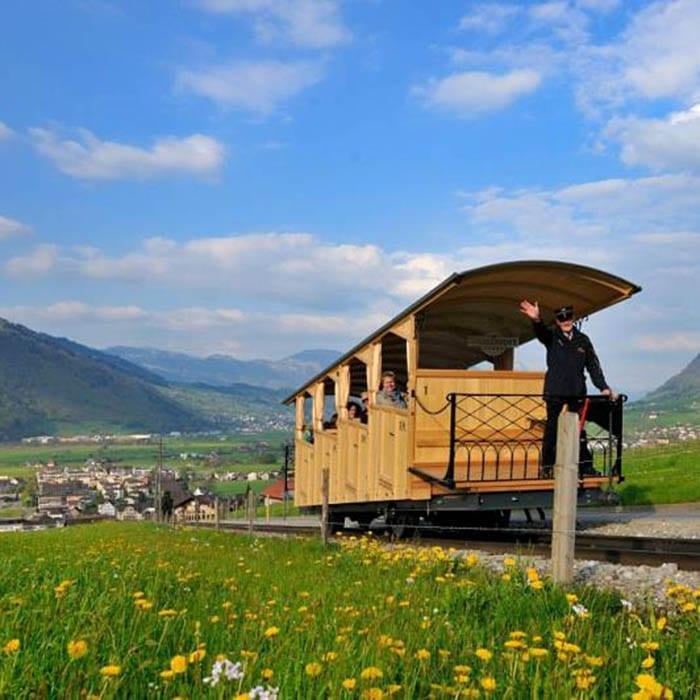 Standseilbahn Zwitserland - Travelvibe