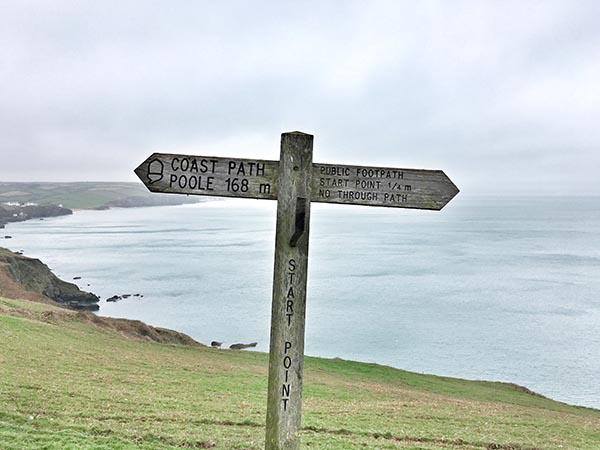 Start Point Signing South West Coast Path