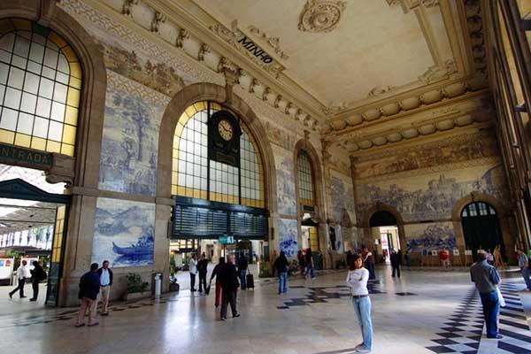 Station Porto Azulejos