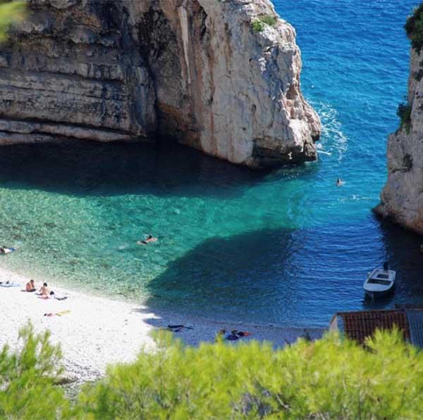 Stiniva Beach Croatia - Travelvibe