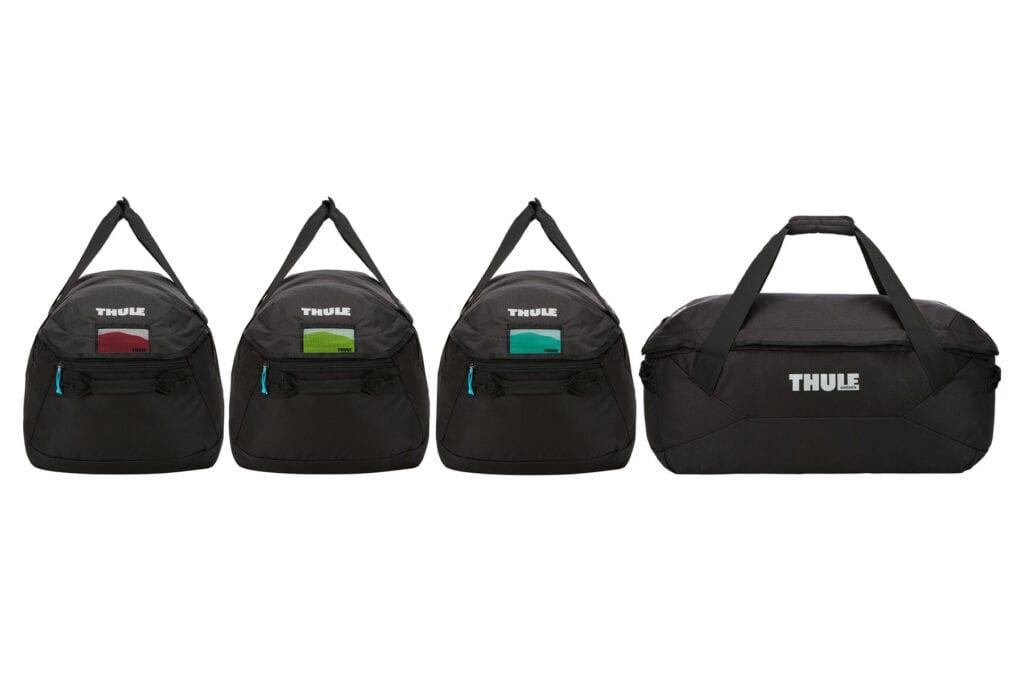 da1729b7613 Handige tassenset voor je skibox nodig? Kies de Thule GoPack Set!