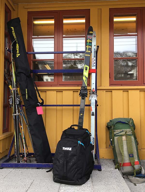 Praktische Thule skiboot rugtas - Travelvibe