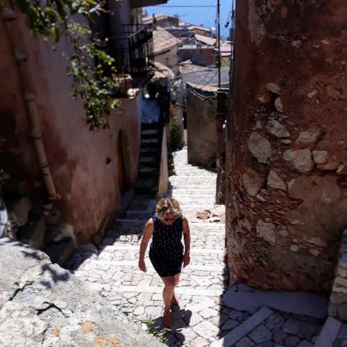 Trappen Siciliaanse dorpjes