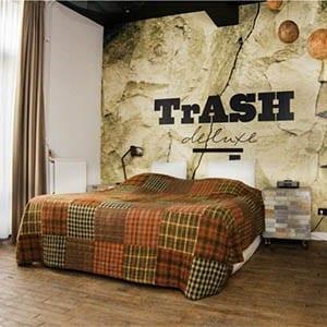 Industriële hotels -Trash Deluxe - Maastricht - travelvibe