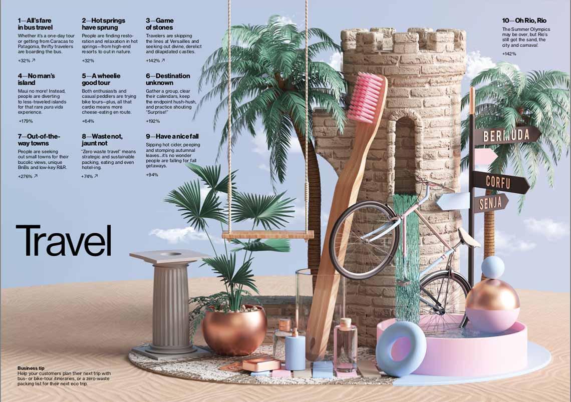 Travel Pinterest reistrends - 2019 - Travelvibe