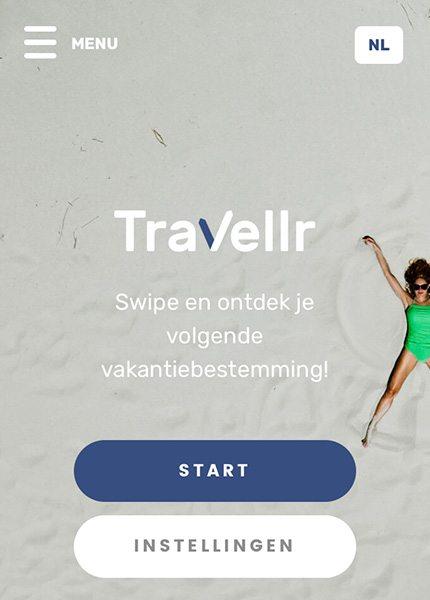 Travellr reisapp voor jouw ideale vakantie