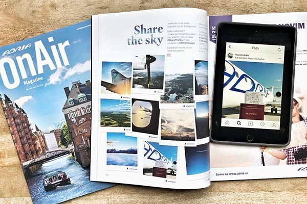 Travelvibe OnAir Magazine - Share the Sky Adria Airways